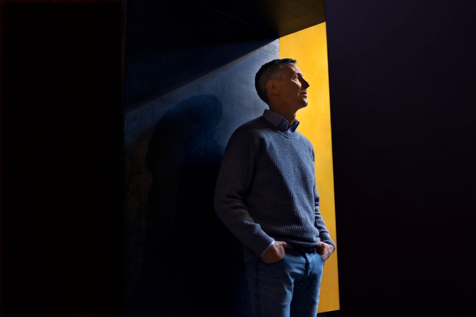 Nick Hækkerup portræt til Euroman Photographer: Jasper Carlberg