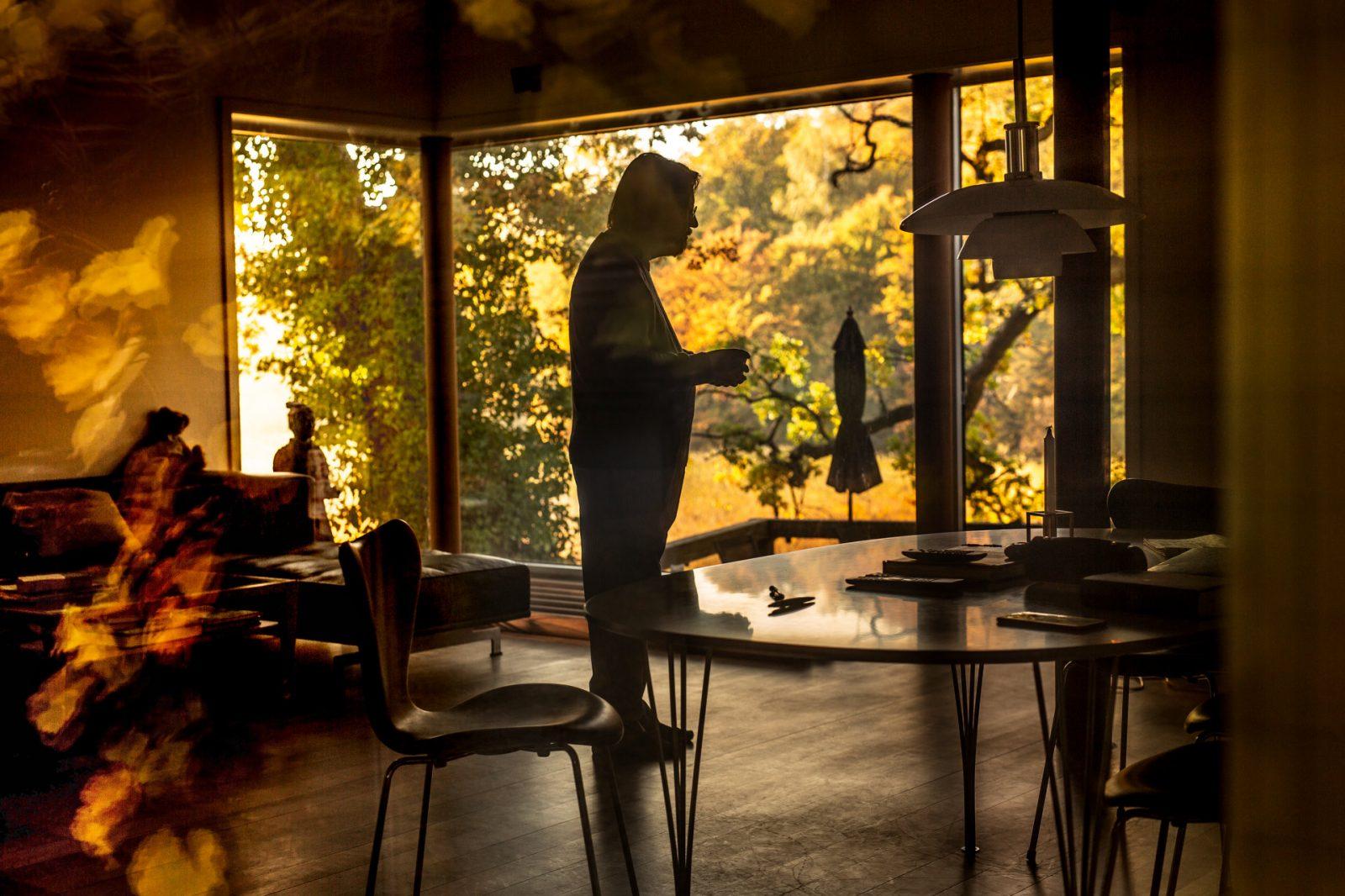 Portr¾t af Lars Von Trier til Dossier
